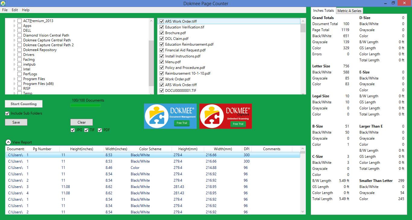 PDF Page Counter